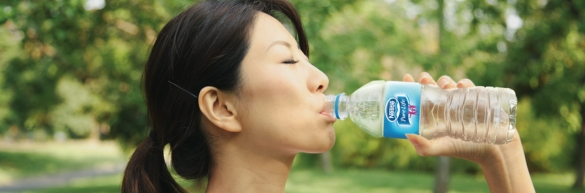 woman-drinking-nestle-purelife-in-park